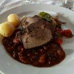 Wild boar steak filet