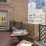 Select Suites offer balcony