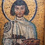 One of many mosaics in museum