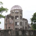 Genbaku Dome--only structure left standing near bomb's hypocenter