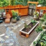 Garden Suite's private patio