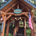 Hidden Moose Lodge main entrance