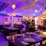 Dinner Indigo - Inside