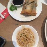 noodles & spring rolls
