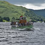 An Ullswater steamers heading for Pooley Bridge