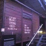 Genocidio Judío- Vagón Orignal proveniente de Polonia