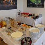 buffet breakfast at Guesthouse Gerdi in Smyrlabjorg