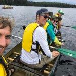 Canoe Lake, the trip begins