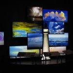 Biloxi Lighthouse display at Biloxi Visitors Center