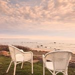 The amazing view from the backyard at Avonlea. Take a sit for awhile.