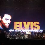 Elvis with the orchestra