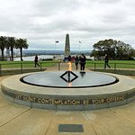 Eternal Flame and Cenotaph