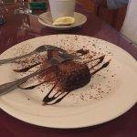 Duck a L'oange, chocolate espresso cake delicious