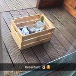 Breakfast basket.