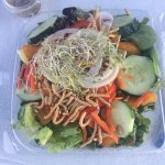 Oriental salad (take out)