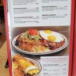 menu at Weck's