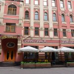 Cafe in Old Arbat Street (1)