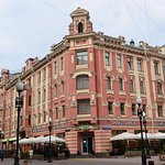 Cafe in Old Arbat Street (2)