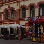 Cafe in Old Arbat Street (3)