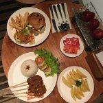 Room service, burger was mediocre