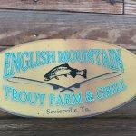 Foto di English Mountain Trout Farm & Grill