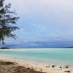 View from Aitutaki Village