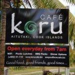 Koru Cafe sign