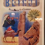 Chef's authentic Lebanese history :) Classic historical poster