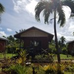 Outside bungalow 10 - Aitutaki Village