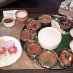 Super South Indian Non Veg Thali.
