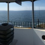 panorama from inside the lighthouse