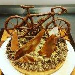 Cake made for customers birthday