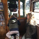Kids love the old rattler trams