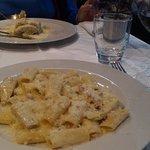 Pasta with lamb ragu and artichokes