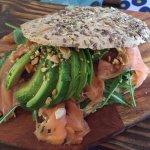 Salmon Smoked Sandwich