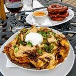 Pot roast nachos! AMAZING!