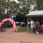 Mothers Day Breast Cancer Fun Run on Esplanade Hervey Bay each year