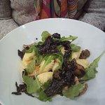 Gnocchis butternut et champignons