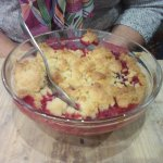 Crumble aux fruits de saison