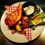 The Wee Fish & Chips from our £5.95 Lightning Bolt Lunch Menu.