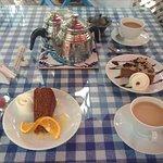 Cuppa tea n a slice of cake
