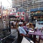 Devi has a few pleasant tables al fresco on Rue Crescent.
