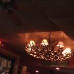The antler chandelier