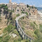 Civita de Bagnoregio - best to go in morning when cooler! Tough climb for some!i