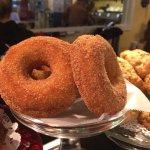 Hot fresh doughnuts every Sunday starting at 9am