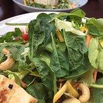 Salat mit Tofu
