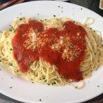 Spaghetti mit Tomatensauce - ja, das geht auch im Spanien-Urlaub!!!