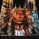 The light show at San Fernando Cathedral was incredible! A must see in San Antonio!