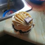 Peanutbutter cupcake...so good!