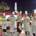 Presentation des cuisiniers